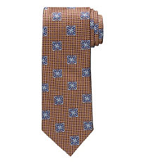 Signature Textured Medallion Tie