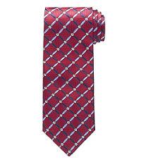 Signature Floral Grid Tie