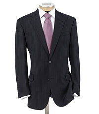 Signature 2-Button Wool Suit Extended Sizes
