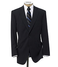 Executive 2Btn Wool Suit with Plain Front Trousers