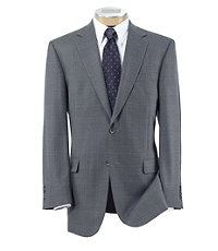 Signature 2-Button Windowpane Sportcoat - Sizes 44-52