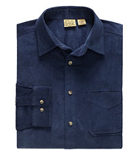 VIP Long-Sleeve Corduroy Sportshirt