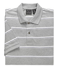 Traveler Striped Short Sleeve Polo Big/Tall