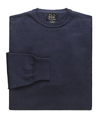 Signature Pima Cotton Crewneck Sweater
