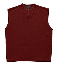 Signature Merino Wool Vest Sweater Big/Tall