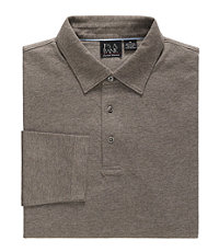 Long Sleeve Point Collar Tailored Fit Sportshirt