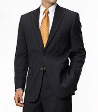 Traveler Tailored Fit 2-Button Suits Pleated Front- Sizes 44 X-Long-52