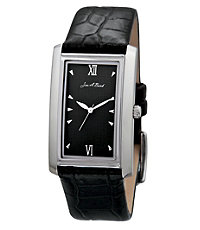 Jos. A. Bank Exclusive Slim Rectangle Face Watch