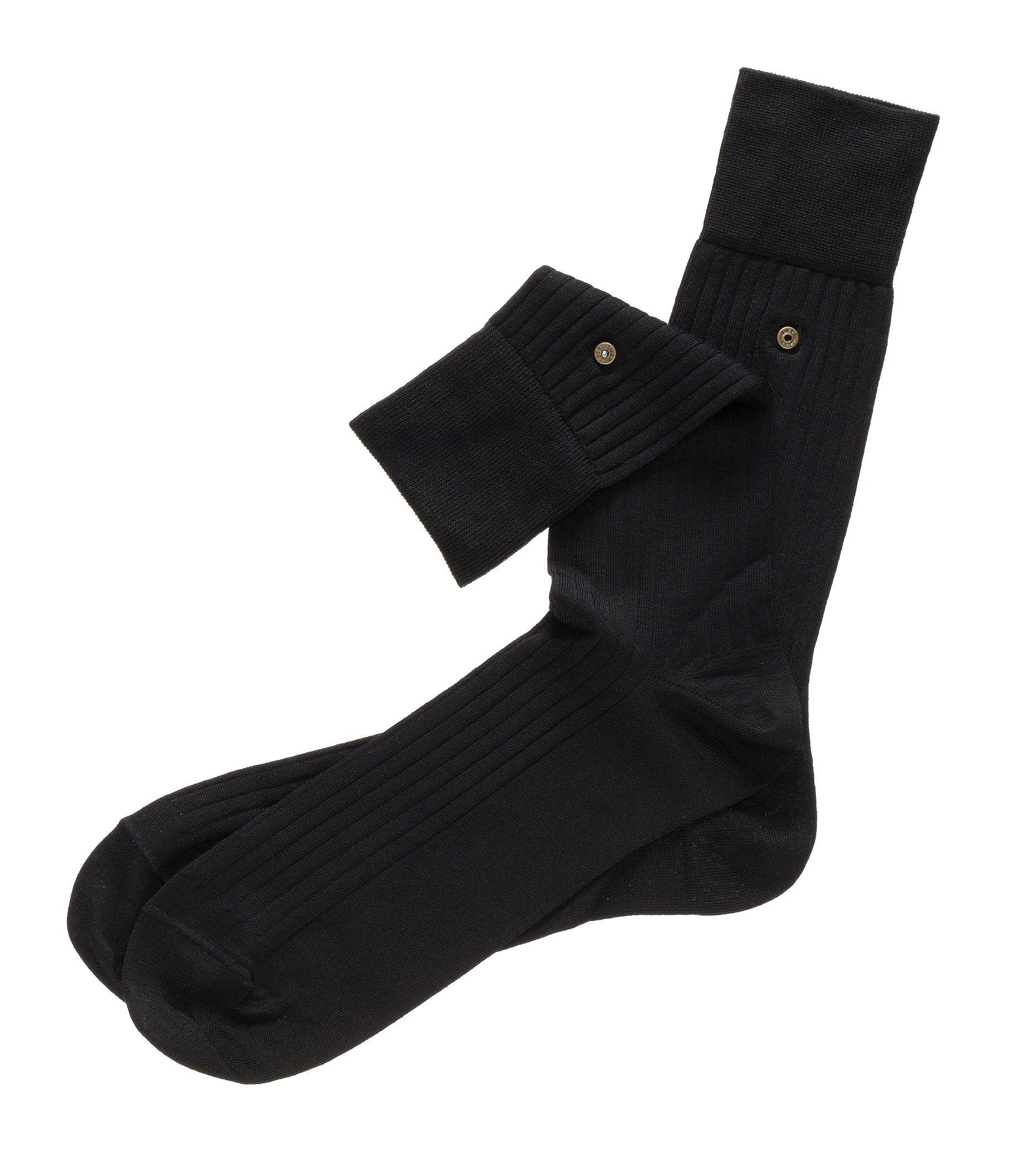 Cotton Lisle Snap Sock