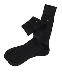 Cotton Lisle Snap Sock