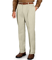 Traveler Pleated Front Khakis- Sizes 50-56