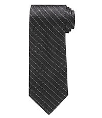 Black/Silver Diagonal Formal Tie