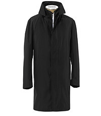 Traveler Double Collar 3/4 Length Raincoat - Extended Sizes