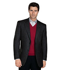 Executive 2 Button Fleece Rich Wool Sportcoat