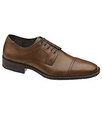 Larsey Cap Toe Shoe by Johnston & Murphy