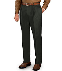 Traveler Pleated Front Khakis-Tall Sizes