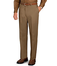 Traveler Plain Front Khakis-Tall Sizes