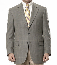 Signature 2-Button Windowpane Sportcoat Regal Fit