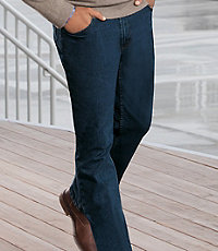 Tailored Fit Traveler Denim Jeans- Sizes 44-48