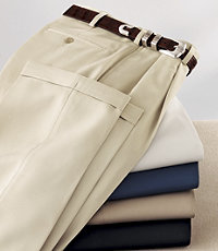 David Leadbetter's Pleated Front Performance Golf Pants- Sizes 44-48