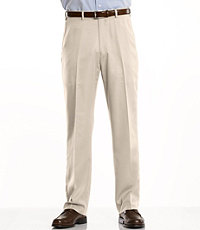 David Leadbetter's Plain Front Performance Golf Pants- Sizes 44-48
