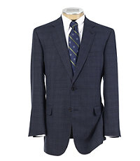 Signature Gold 2-button Plaid Sportcoat- Sizes 44-52