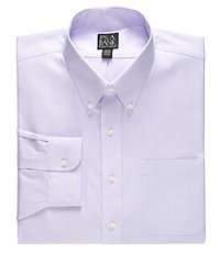Traveler Tailored Fit Button Down Collar Dress Shirt