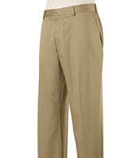 Stays Cool Wrinkle Free Plain Cotton Pants- Sizes 44-48