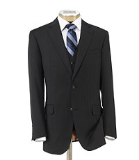 Joseph 2 Button Wool Vested Suit with Pleated Front Trousers - Sizes 44 X-Long-52