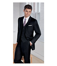 Joseph 2 Button Wool Vested Suit with Plain Front Trousers - Sizes 44 X-Long-52