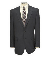 Signature Tropical Weave 2-Button Tailored Fit Suit with Plain Trousers