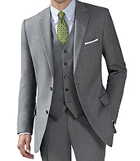 Traveler Tailored Fit 2-Button Suit with Plain Front Trousers - Sizes 44 X-Long-52