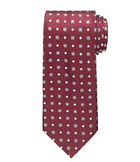 "Textured Square 61"" Long Tie"