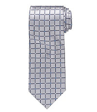 "Grid Patterned Tie 61"" Long"