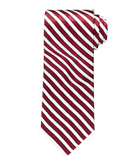 "Signature Satin Stripe 61"" Long Tie"