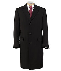 Whipcord Dress Topcoat Extended Sizes