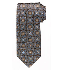 Signature Medallion Long Tie