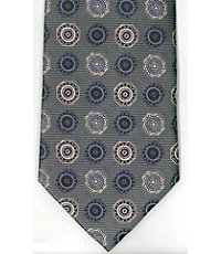 Signature Small Medallion Long Tie