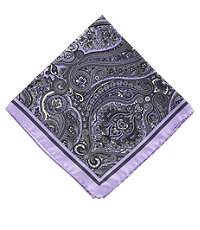 Tapestry Pocket Square- Purple