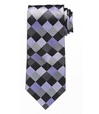 Signature Large Checkerboard Tie