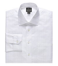 Signature Spread Collar Barrel Cuff Tailored Fit Dress Shirt