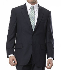 Signature 2-Button Tailored Fit Jacket - Sizes 44 X-Long-48
