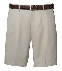 Traveler Cotton Shorts Plain Front- Sizes 44-48