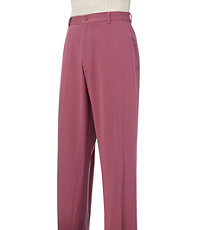 VIP Take it Easy Cotton Washed Twill Plain Front Pants