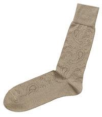 Tonal Paisley Mid-Calf Socks