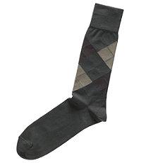 Dress Argyle Mid-Calf Socks