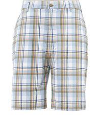 Poplin Plain Front Shorts