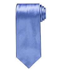 Signature Platinum Solid Tie