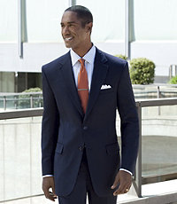 Signature 2-Button Tailored Fit Jacket
