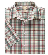 VIP Take it Easy Short Sleeve Point Collar Pattern Sportshirt